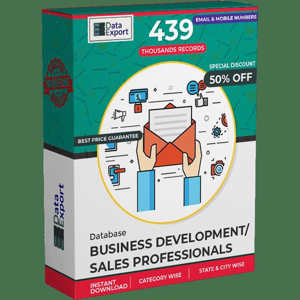 Business Development / Sales Professionals Database