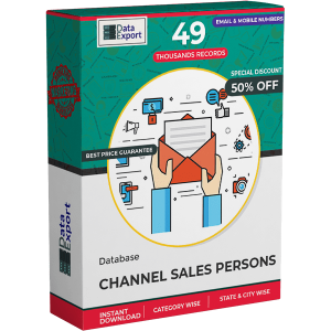 Channel Sales Persons Database
