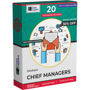 Chief Managers Database