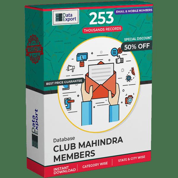 Club Mahindra Members Database