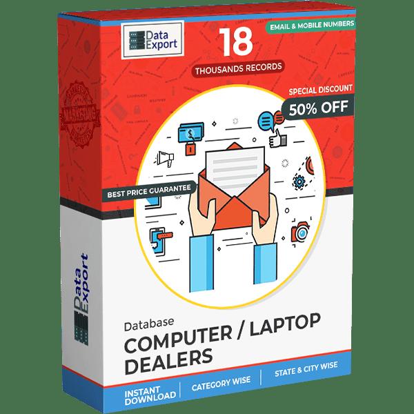 Computer / Laptop Dealers Database