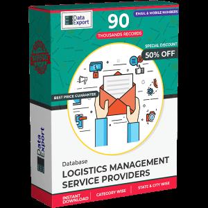 Logistics Management Service Providers Database