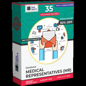 Medical Representatives (MR) Database