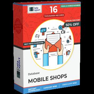 Mobile Shops Database