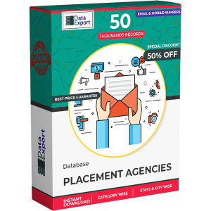 Placement Agencies Database