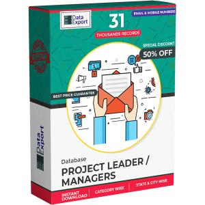 Project Leader / Managers Database