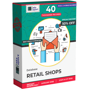 Retail Shops Database