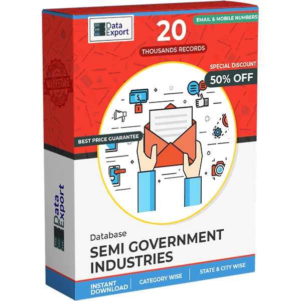 Semi Government Industries Database